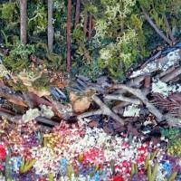 雲ヶ畑の春 花のコラージュ