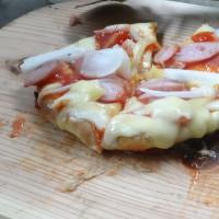 自家製ピザ