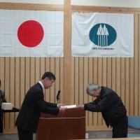 DSC02154縮小30%(5)北山丸太生産協理事長賞の表彰