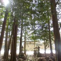 平戸神社境内